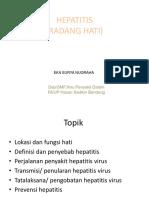 Screening Hepatitis