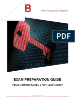Pecb Iso 27001 Lead Auditor Exam Preparation Guide