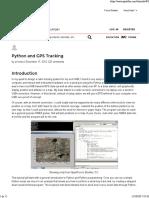 Python and GPS Tracking