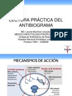 Resistencia Bacteriana y Lectura de Antibiograma.pptx