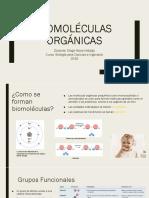 Clase 3 Biomoleculas Orgánicas