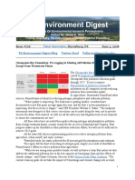 Pa Environment Digest June 4, 2018
