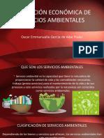 Valoración Económica de Servicios Ambientales