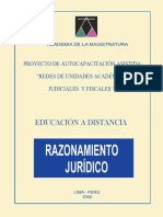 Razonamiento Jurídico - Ricardo León Pastor (Amag 2000)