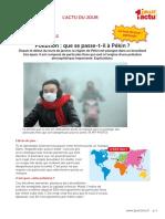 Actulongue Pollution