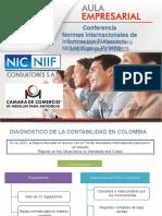 Conferencia PYMES Cámara de Comercio Plantilla