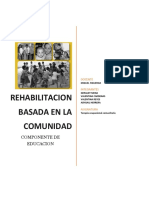 Rbc Educacion en terapia ocupacional