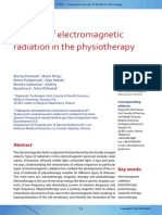 The Use of Electromagnetic Radiation in Thephysiotherapy - Putowski