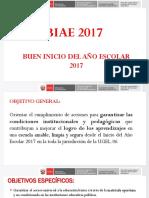 Ppt Buen Inicio Escolar 2017 - Ugel.06_dic