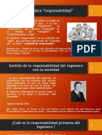 5.4 Responsabilidad Profesional, Ética y Legal de Los Ingenieros