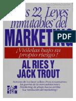 22 Leyes Inmutables Del Markeing