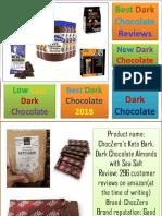 Best Dark Chocolate Benefits | Best Dark Chocolate Reviews 2018