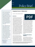 Engaging Europe on Afghanistan