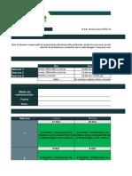 Agenda de Actividades de Principios de Embriología Grupo 03 de LHF