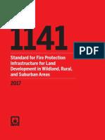 NFPA 1141 -2017