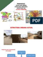 Estructura Urbana%2c Territorial y Vial Propuestas.