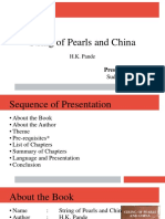 String of Pearls and China by HK Pande