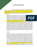 Software Development Introduction
