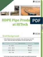 HiTech Pipe Production kotri