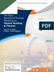 Two days specialized training workshop on Islamic Banking & Finance at UK