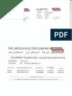Calibration - PPCO New Welding Machine0001