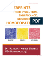 Fingerprints and Homeopathy
