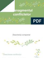 Managmentul conflictelor