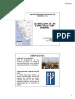 4 Clasificacion de Las Carreteras y Vias Urbanas - Dg 2013 2