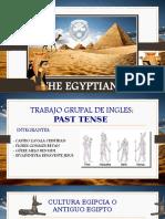 Trabajo Grupal de Egipcios - INGLES