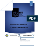 Draft Proposal Medco EP Indonesia - Internship