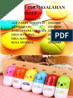 6. PPT Farmasi Klinis (Skrining Resep) - Kelompok 1