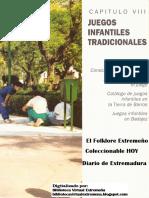 Juegos infantiles tradicionales de Extremadura - Folklore. Coleccionable HOY - Diario Regional p. 442-475