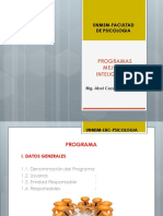 Unidad IV Program As