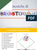 brainstrorming