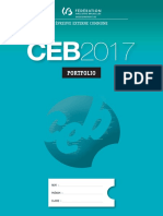 Evaluation Certificative - CEB 2017 - Portfolio (Version Standard) (Ressource 13972)
