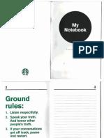 Starbucks Racial Bias Training Booklet