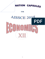 Economics-CBSE 2018 Notes and Most Imp Questions(1)