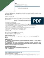 Proposta Subestação Manel