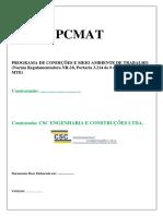 Exemplo de Pcmat