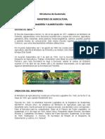 13 ministerios de guatemala