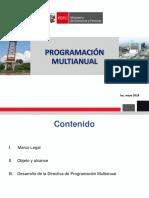 Programacion Multianual - Marco General