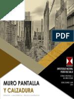 Informe Muro Pantalla y Calzadura