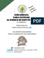 Guía Bíblica Para Auxiliar Al Pueblo de Dios en La Fe v Edición - Padre Héctor Pernía, Sdb
