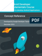 Android Developer Fundamentals Course Concepts Idn