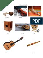 Instrumentos Criollos