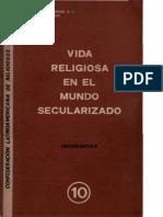 Vida Religiosa en El Mundo Secularizado - CLAR 1971