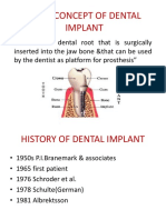 Basic Concept Dental Implant