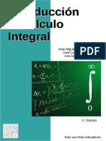 Introducción Al Cálculo Integral - González