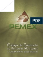 Codigo de Conducta Pemex