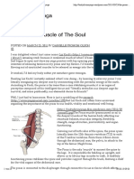 The Psoas Muscle of the Soul Http __bodydivineyoga.wordpress.com_2011!03!23_the Psoas Muscle of the Soul